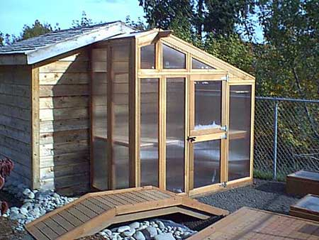 Coop-Style Greenhouse