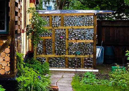 Glass Jar-Wall Greenhouse