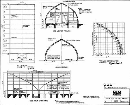95 diy greenhouse plans learn how to build a greenhouse for Gothic greenhouse plans