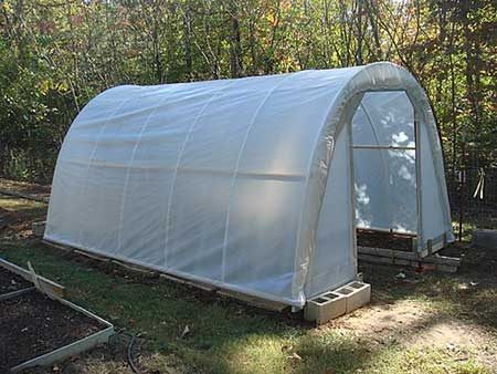 Inexpensive PVC Greenhouse