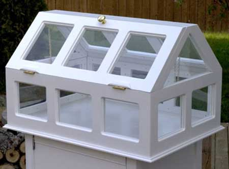 Small Pedestal Greenhouse
