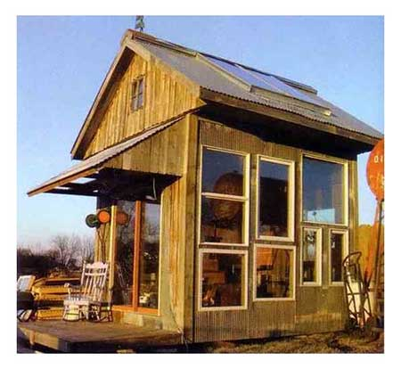 Solar Heated Greenhouse/Guesthouse
