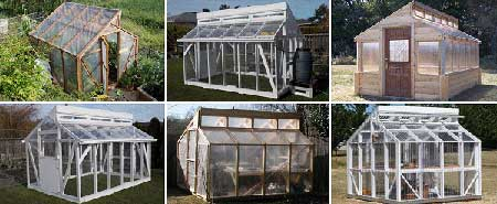 Vented Ridgeline Greenhouse
