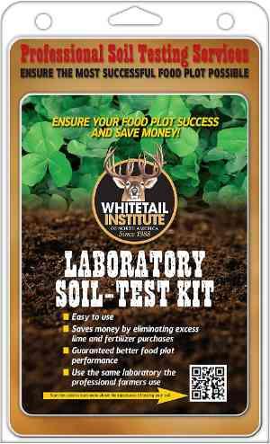 Whitetail Institute Laboratory Soil Test Kit