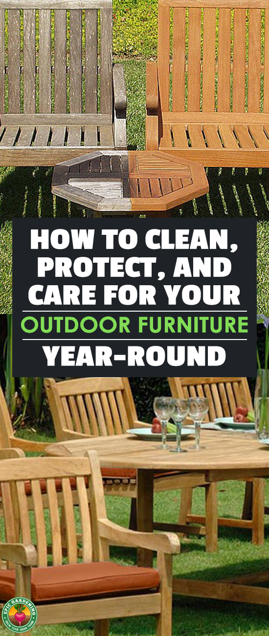Outdoor Furniture Can Take A Beating, So Learn How To Clean Outdoor  Furniture And Protect