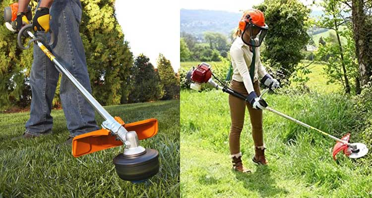 The Best Brush Cutter Gas And Electric Options Epic Gardening
