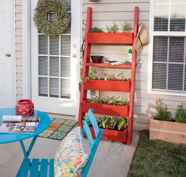 Fence Ladder: Fence Planters: Fantastic & Free Plans To Get More Growing