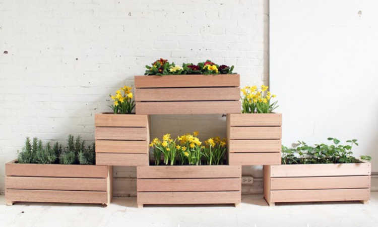 stackable planter boxes