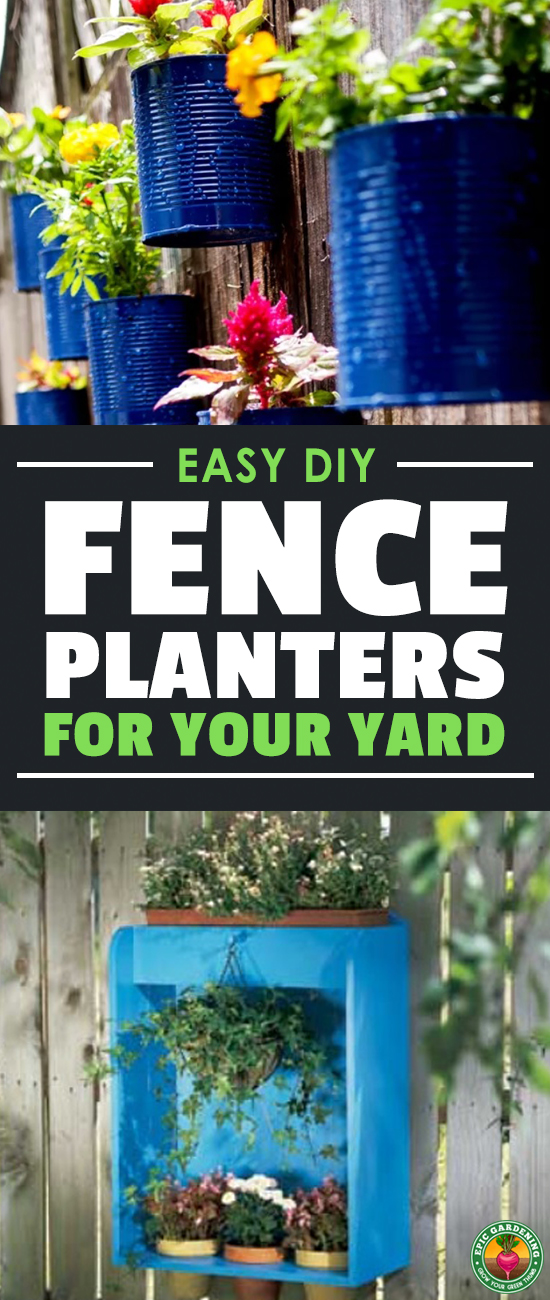 We all need more room to grow. Why not add some fence planters to your yard? With these free, fantastic plans, you can expand your garden vertically!