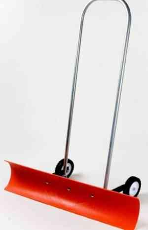 Dakota SnoBlade Snow Blade Shovel With Wheels