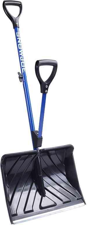 Snow Joe SJ-SHLV01 Snow Shovel w/Assisted Handle