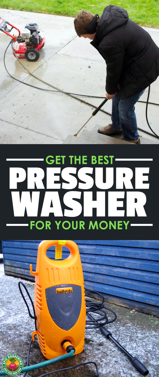 If you're desperate to get your deck or driveway clean, our buyer's guide will help you find the best power washer for your needs!