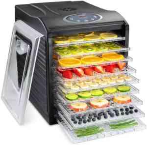 Ivation 9-Tray Digital Food Dehydrator