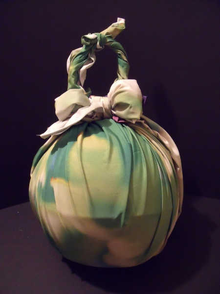 Traditional Japanese watermelon Furoshiki wrap