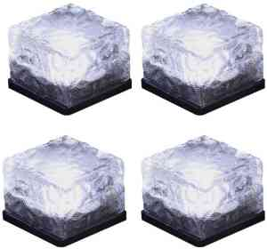 BALOOM Solar Glass Brick Light