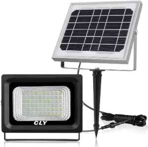 CLY 60 LED Solar Outdoor Security Floodlight