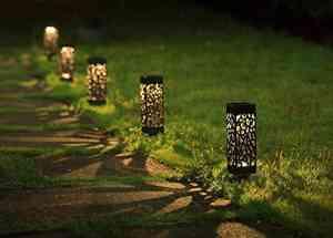 Maggift Solar Powered LED Garden Lights