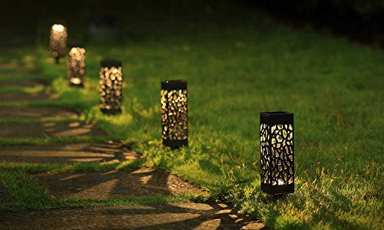 Maggift solar powered garden lights
