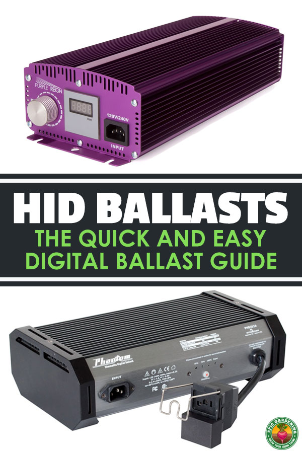 Electric ballasts are a crucial part of your growing setup...don\'t make the wrong choice. All you need to know about MH and HPS ballasts is in this guide.