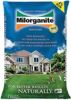 Milorganite 62036-MW Organic Milorganite Fertilizer