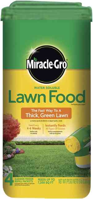 Miracle-Gro 1001834 Water Soluble Lawn Food